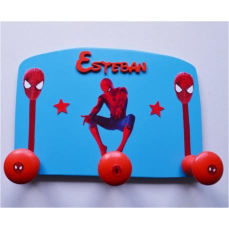 Porte-manteau Personnalisé Spiderman
