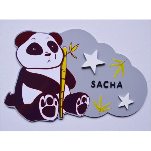 Nuage panda personnalisé
