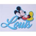 Prénom Mickey personnalisée