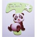 Lettre personnalisé Panda