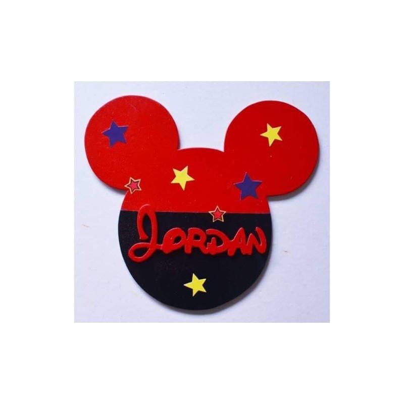Tête Mickey personnalisée