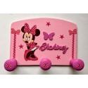Porte-manteau Personnalisé Mickey et Minnie