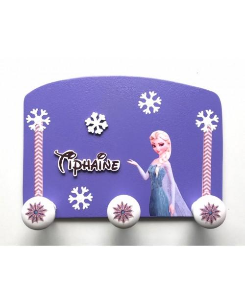 Porte-manteau Personnalisé Reine des neiges