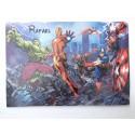 Plaque Avengers personnalisée