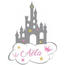 Château de princesse personnalisée