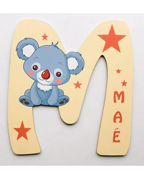 Lettre Koala personnalisée