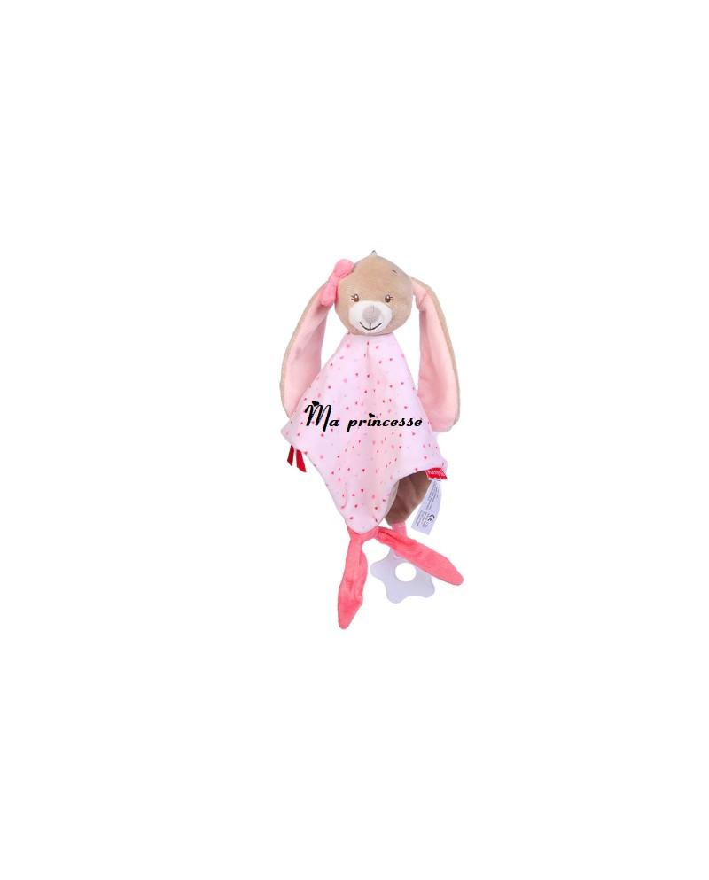 Doudou Nattou Nina le lapin personnalisé