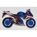 Plaque moto personnalisée