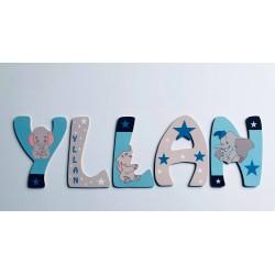 Lettres Bois pour Prénom: Dumbo