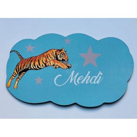 Nuage jungle Tigre personnalisée