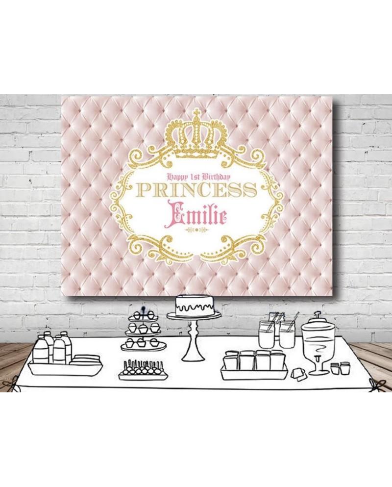Toile / Arrière plan personnalisé Princesse