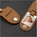 Porte clés personnalisé en cuir