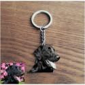 Porte clés personnalisé Photo Animal + Texte