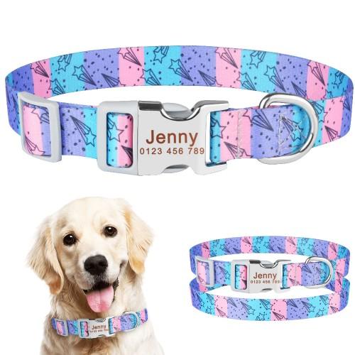 Collier personnalisé pour chiens