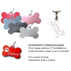 Médaille personnalisé pour chiens