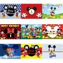 Toile / Arrière plan personnalisé Mickey