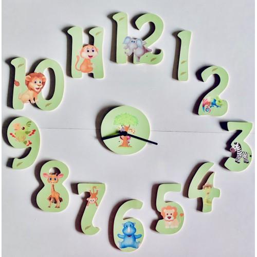Horloge personnalisé - thème au choix