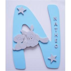 Lettre Nattou personnalisé