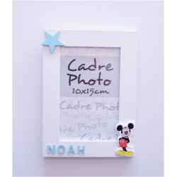Cadre photo Mickey personnalisée