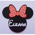 Plaque Minnie personnalisée