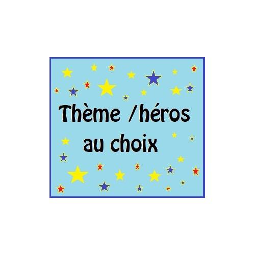 Lettres Bois pou Prénom: Thème au choix