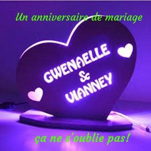 N'oubliez pas votre anniversaire de mariage